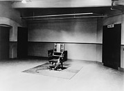 Alternating Current Photos - Death Chamber And Electric Chair by Everett