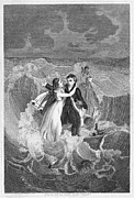 Cary Framed Prints - Death Of Missionary, 1822 Framed Print by Granger