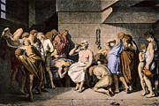 Death Of Socrates Print by Granger