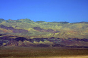Lone Metal Prints - Death Valley - Land of Extremes Metal Print by Christine Till
