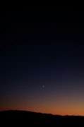 Moonlit Night Photo Originals - Death Valley - Last Light on the Desert by Christine Till