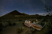 Night Photography Posters - Death Valley Drive-In Poster by Sean Foster