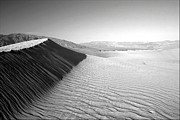 Death Valley National Park Posters - Death Valley Dunes Poster by Gary Koutsoubis