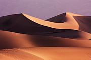 Desert Metal Prints - Death Valley Dunes Metal Print by Matt  Trimble