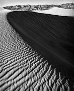 Large Sand Dunes Prints - Death Valley Dunes Print by Todd Young