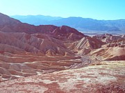 Death Valley Photos - Death Valley Mountains 2 by Irina  March