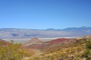 Mountain Range Art - Death Valley National Park - Eastern California by Christine Till