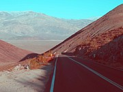 Death Valley Photos - Death Valley Road 3 by Irina  March