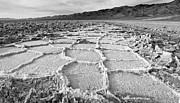 Barren Land Prints - Death Valley Vista Print by Jim Chamberlain