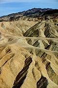 Deserts Prints - Death Valley Waves Print by Mary Haber