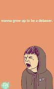 Hoodie Digital Art - Debaser by Mops