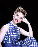 1950s Fashion Framed Prints - Debbie Reynolds, C. 1950s Framed Print by Everett