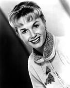 1950s Portraits Prints - Debbie Reynolds, Portrait, Ca.1950s Print by Everett