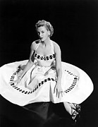 Full Skirt Photo Framed Prints - Deborah Kerr, 1954 Framed Print by Everett