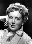 1950s Portraits Photo Metal Prints - Deborah Kerr, C. Early-mid 1950s Metal Print by Everett