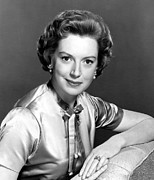 1950s Portraits Framed Prints - Deborah Kerr, C. Mid 1950s Framed Print by Everett