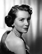 Kerr Framed Prints - Deborah Kerr, Ca. 1950s Framed Print by Everett