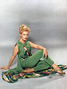 Kerr Metal Prints - Deborah Kerr, Circa 1960s Metal Print by Everett