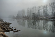 Mystifying Photos - DeBoville in Fog 3 by Karen Cooper