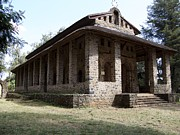 Architectur Photo Originals - Debre Berhan Selassie church by Michal  Sikorski