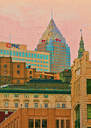Cleveland Framed Prints - Decades Of Architecture Framed Print by Kenneth Krolikowski