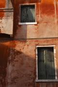 Decayed Facade Of A Building Venice Print by Trish Punch