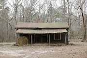 Run Down Shack Prints - Decaying Rural Home Print by Roberto Westbrook