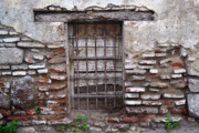 Decaying Prints - Decaying Wall and Window Antigua Guatemala 2 Print by Douglas Barnett
