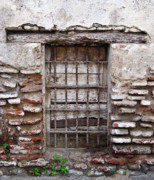 Decaying Art - Decaying Wall and Window Antigua Guatemala 3 by Douglas Barnett