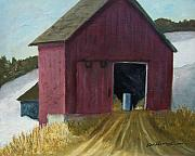 Hayride Prints - December Hayride Print by Robert Harrington