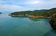 Randall Templeton Art - Deception Pass. by Randall Templeton