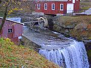 Autumn Scene Photos - Decew Falls by Deborah MacQuarrie