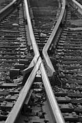 Railroad Ties Prints - Decisions Print by Kelvin Booker