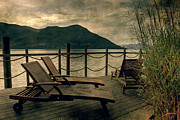 Reed Photos - Deck Chairs by Joana Kruse