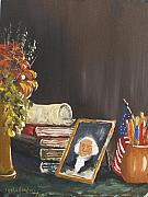 The President Of The United States Paintings - Declaration Of The United States Of America by Miroslaw  Chelchowski