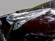 Hood Ornaments Art - Deco DeSoto by Jan Amiss Photography