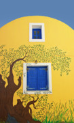 Branches Art - Decorated House by Meirion Matthias