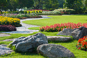 Stone Photo Originals - Decoration In Park by Atiketta Sangasaeng