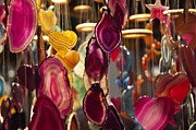 Manual Originals - Decorative hanging mobiles at Birmingham Christmas market by Magdalena Warmuz-Dent