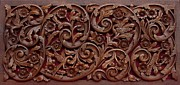 Vine Reliefs Posters - Decorative Panel - Spring Poster by Goran