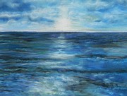 Waters Pastels - Deep Blue  by Ruth Scott