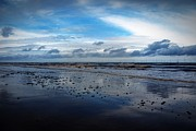 Stephen Clarridge Metal Prints - Deep Blue Skegness Beach  Metal Print by Stephen Clarridge