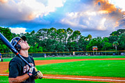 Baseball Fields Photos - Deep Breath by Shannon Harrington