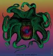 Fanciful Digital Art Metal Prints - Deep Monster Number Two Metal Print by Eric Edelman