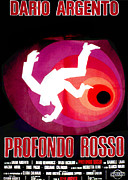 Italian Cinema Framed Prints - Deep Red, Aka Profondo Rosso, Italian Framed Print by Everett