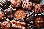 Assorted Posters - Deep Rich Chocolates Poster by Andee Photography
