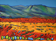 Southwest Landscape Paintings - Deep Shadows by Johnathan Harris