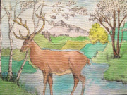 Julissie Saltzberg - Deer and Stream