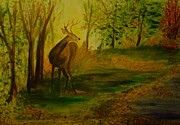 Carolyn Speer - Deer Startled