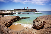 Seashore Metal Prints - Defense Fort Metal Print by Carlos Caetano